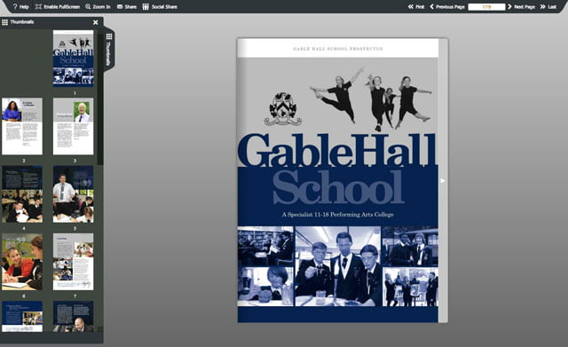 gable-hall-school-prospectus