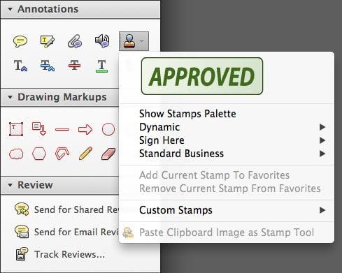 PDF Approval