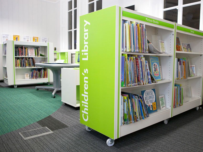 library-plus-childrens-area