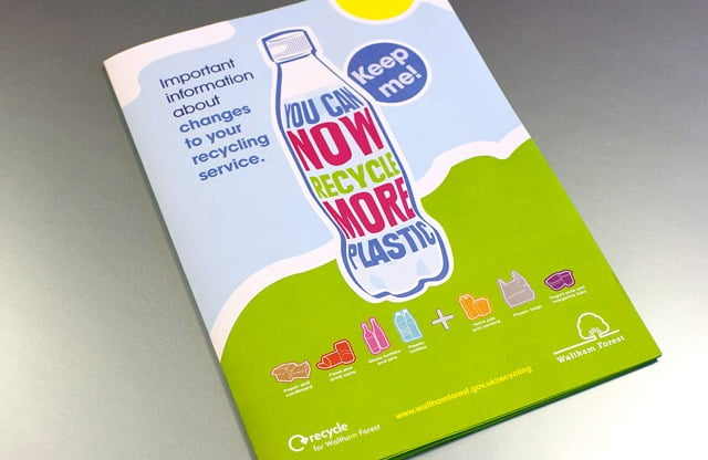 Recycle Leaflet Cover