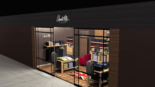Charlie Allen Store Visual