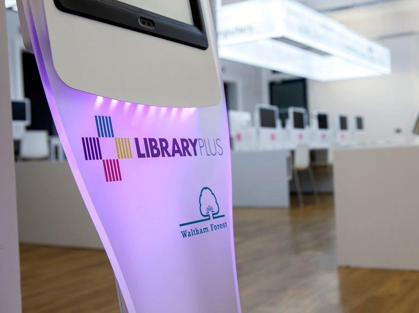 Library Plus Kiosk
