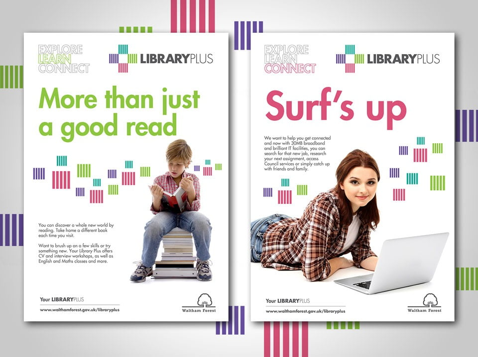 Library Plus Posters