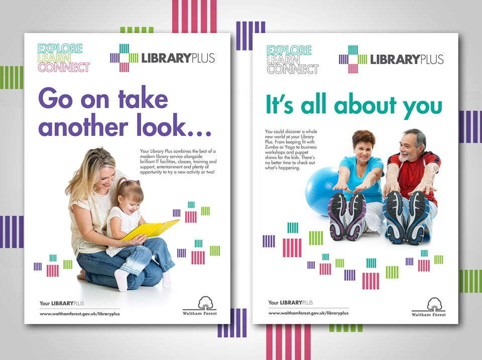 Library-Plus Posters
