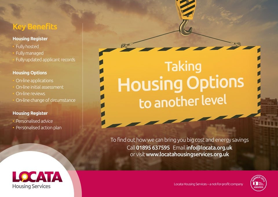 Locata Housing Services Advert