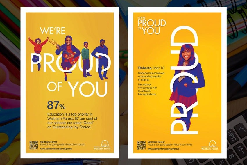 Waltham Forest Proud of You Posters