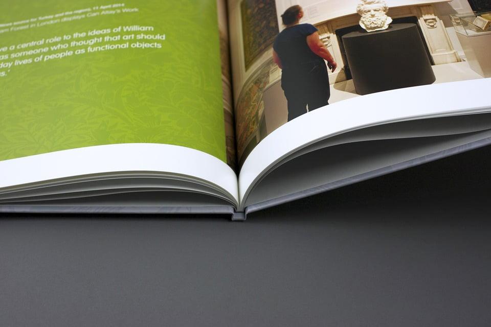 William Morris Gallery Book Spread