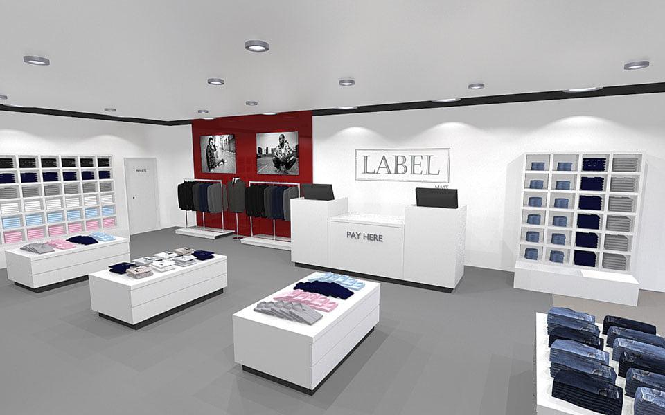 Label Shop Render